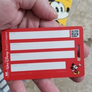 Disney Other - Disney luggage tags with ties 3
